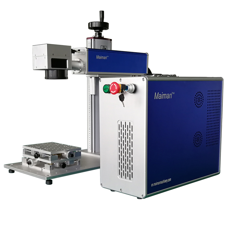Chongqing Mini 20W fiber electronic laser marking machine for printed circuit board,chip,mobile phone shell