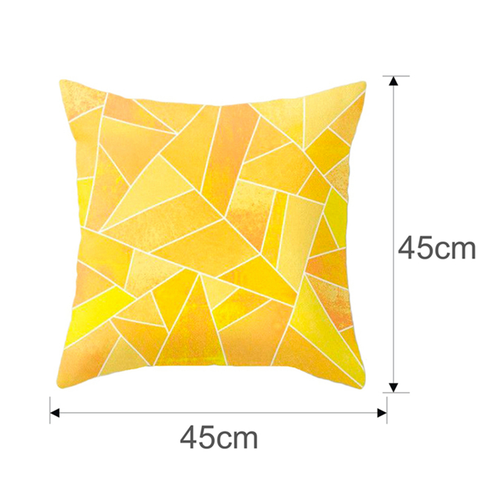 HTB1BS uXEGF3KVjSZFvq6z nXXah Polyester Geometric Cushion Yellow Pineapple Pillow Decorative Cushion for Sofa DIY Printed Pillow Seat Chair Cushion