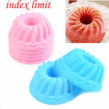 3D Silicone Mold Ring Shapes Mould  For Soap Candy Chocolate Ice Cake Moulds Cake Decorating Tools DIY Baking Pastry Bread Mold