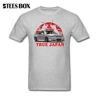 T Shirt Erkekler Skyline GTR R33 Ture Japonya Nissan Adam ekip Boyun Kısa Kollu Tops Büyük İndirim Gençlik Komik Grafik t-shirt