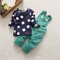 0-3Y Niños Niño niños Bebé Niñas Oso de Dibujos Animados de Impresión Pantalones de Harén Overol Pantalón