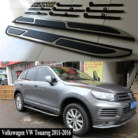 JIOYNG For Volkswagen VW Touareg 2011 2016 Car Running Boards Auto Side Step Bar Pedals Brand New Nerf Bars