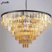 Jmmxiuz новая стильная хрустальная люстра-светильник роскошные большие хрустальные люстры хрустальная люстра для гостиной Бесплатная достав...
