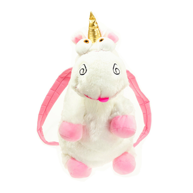 Lovely Unicorn Bag Plush Unicorns Toy Backpack Toys for Girls Kids Birthday Gift 50cm