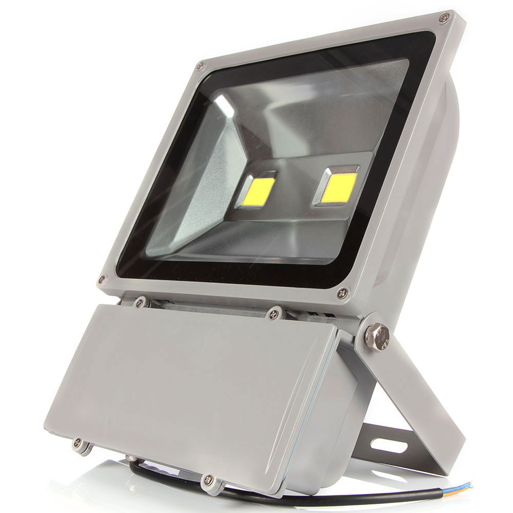 ФОТО Super Bright LED Flood Light 100W White  AC85-265V Waterproof IP65 Floodlight Spotlight Outdoor Lighting Freeshipping