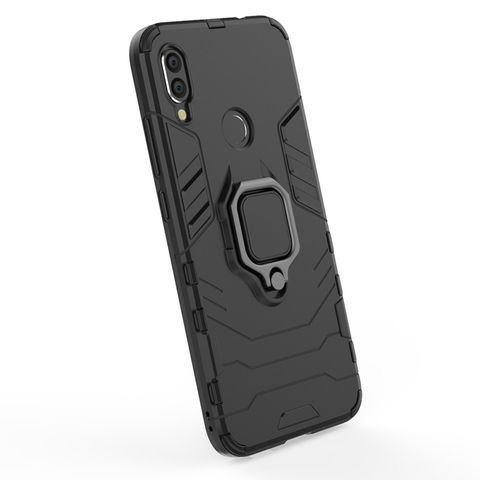 Silicone Cases For Xiaomi redmi note 7 Covers For Xiaomi Mi Play Case FingerRing Hard Bags Iron Man Housings Islamabad