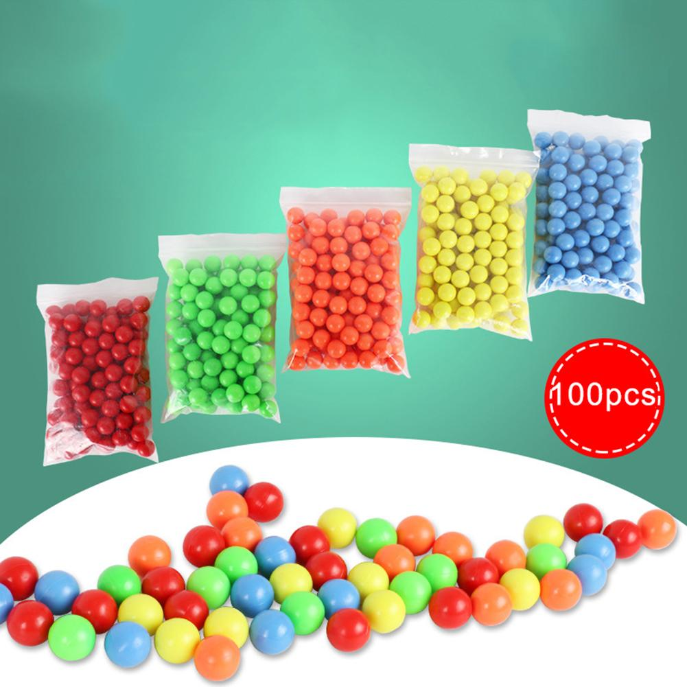 100Pcs 15mm Montessori Counting Solid Clip Balls Baby Math Toy Children School Mathematics Teaching Aids Educational Toys 2019