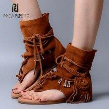 Gladiator Fringe Sandals Compra lotes baratos de Gladiator