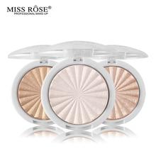 Bronzer Highlighter For Face Pallet Womens Cosmetics Make Up Illuminator Blush Stabilo Boss Miss Rose