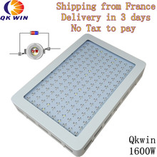 Qkwin 1600W LED Grow Light double chip 370W True Power Full Spectrum with on/off button France warehouse Drop shipping
