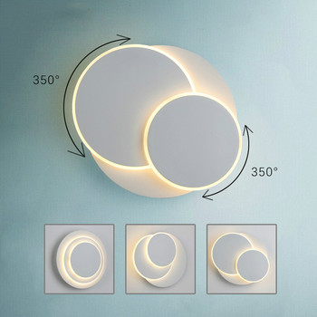 Staircase led Movable Ceiling Lights for Home Balcony Aisle Cafe Rotating Round Led Ceiling Lamp Minimalism surface Luminaire