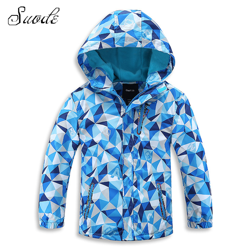 SUODE Boys Outerwear Winter Warm Waterproof Jackets for Kids Children Christmas Hooded Long Sleeve Coats Girls New Year Clothes 2015 new arrive super league christmas outfit pajamas for boys kids children suit st 004