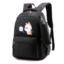 купить Gaoge OXford Waterproof Women Daily Backpack Casual Printing School Backpack Bag for College Girls & Boys Laptop Teenager Bags дешево