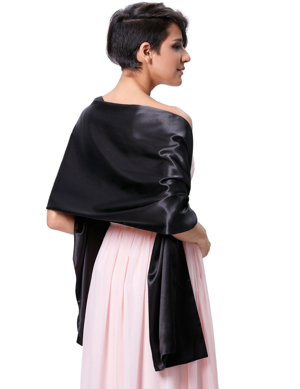 Online Buy Wholesale satin evening wrap from China satin evening ...