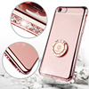 Crystal Blink Case For IPhone 6plus Diamond Cover Rhinestone Glitter Case For Iphone 6splus Kickstand Cover