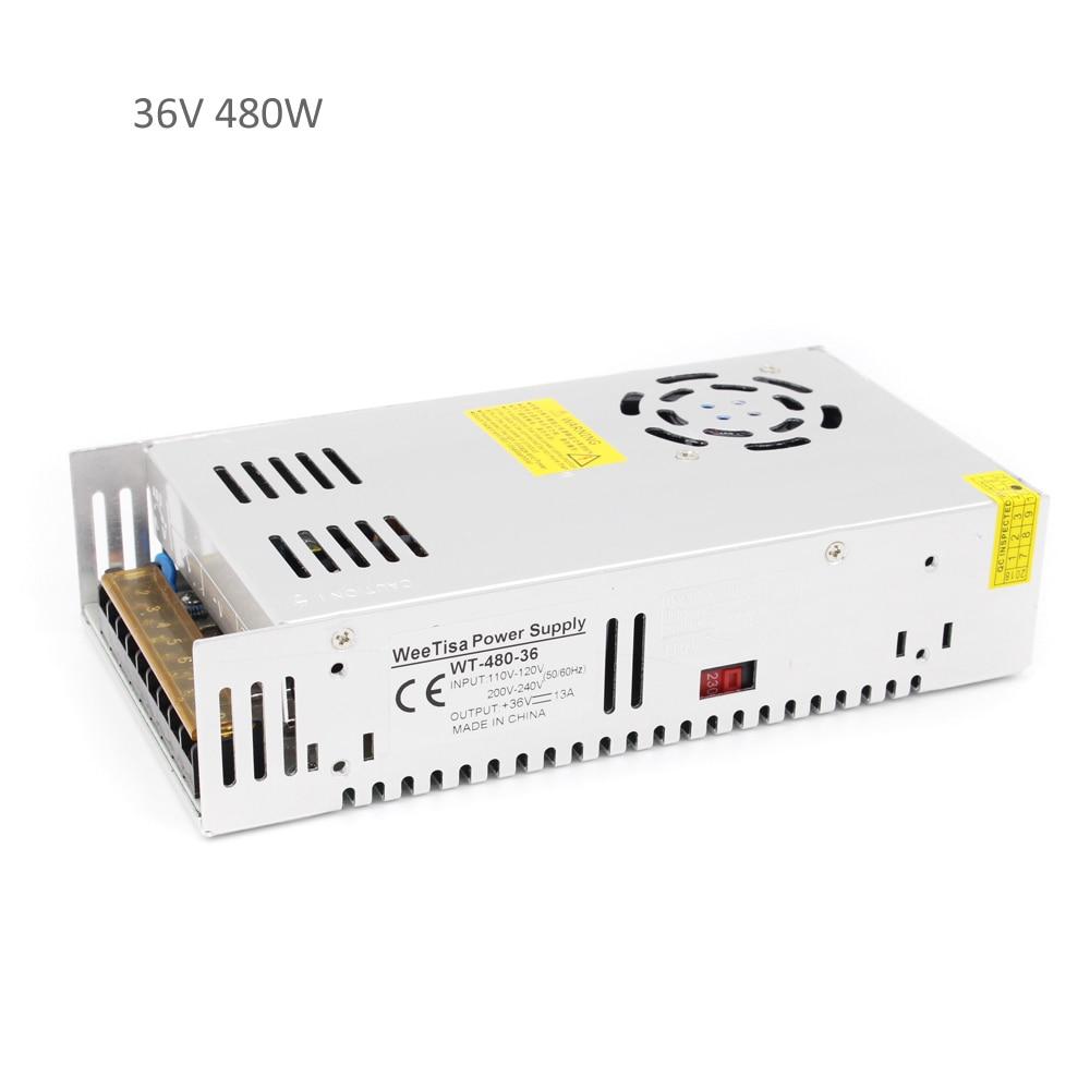 36V 480W Power Supply