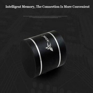 Image 4 - ADIN Mini 15W In Metallo di Vibrazione Altoparlante Senza Fili di Bluetooth HiFi Bass 3D Stereo Surround FM Radio TF Subwoofer Con Telecomando di controllo