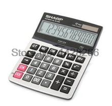New Genuine Original SHARP EL-D1200 Calculator Desktop Office Business Calculadora Cientifica As Gift 12 Digits Large Screen