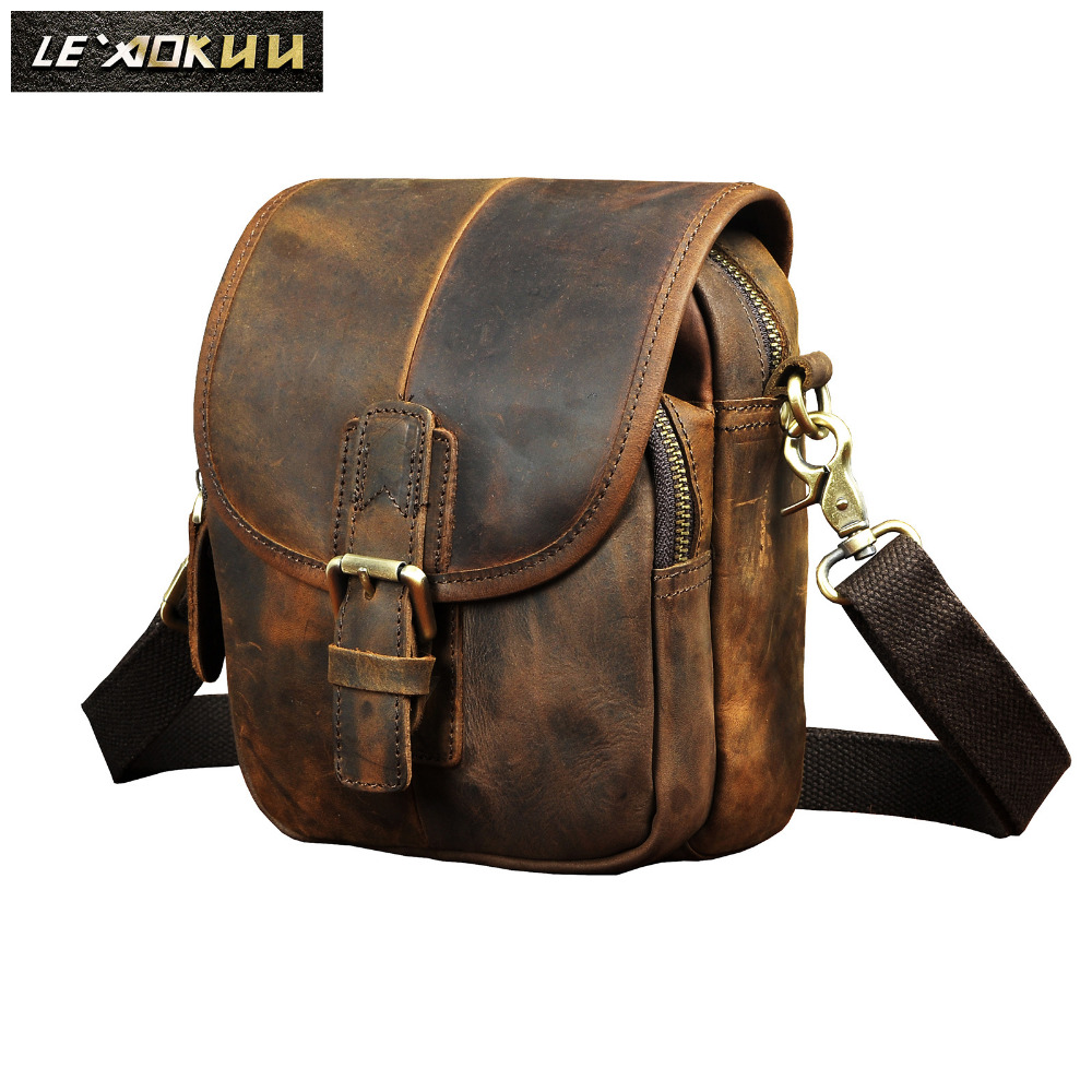 Fashion Leather Multifunction Travel Crossbody Satchel Messenger Bag Design Cigarette Case 6
