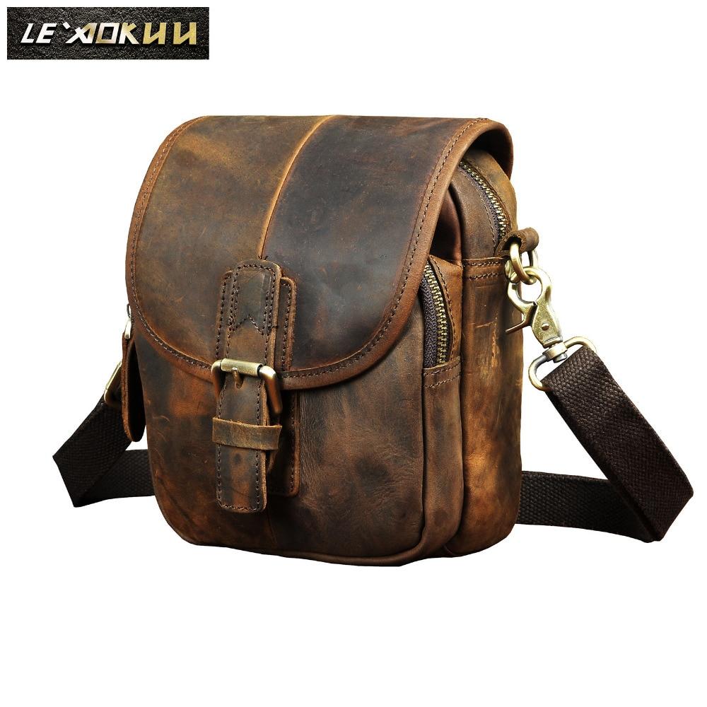Fashion Leather Multifunction Travel Crossbody Satchel Messenger Bag Design Cigarette Case 6