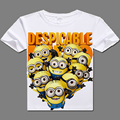 2017 casual tshirt for men Minions Despicable Me Tshirt Cotton digital printed Minions T- shirts cute Minions clothes t shirts