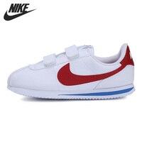 Nova chegada original nike cortez básico sl (psv) crianças sapatos tênis|Sapatos de skate| |  -
