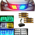 Yellow  Amber flash light 6x9 LED Snow Plow Car Boat Truck Warning Emergency Strobe Lights white blue red ...