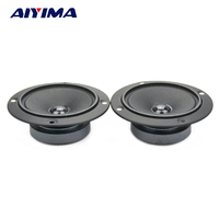 2Pcs 3Inch Tweeters Loudspeakers Audio Speakers 4Ohm 50W KTV Dedicated Audio Visual High Sensitivity Speaker