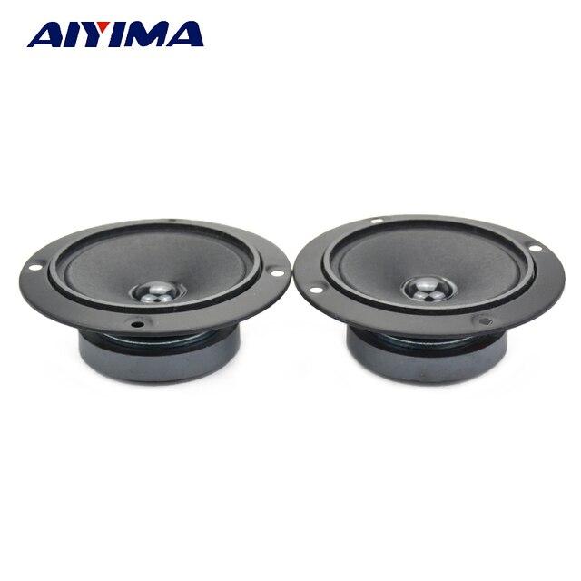 Aiyima 2Pcs 3Inch Tweeters Loudspeakers Audio Speakers 4Ohm 50W KTV Dedicated Visual High Sensitivity Speaker