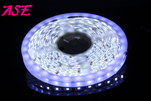 Free Shipping 12V  Flexible SMD LED Strip 5050 Waterproof  60LEDs/m 5m/roll 1Roll/Lot