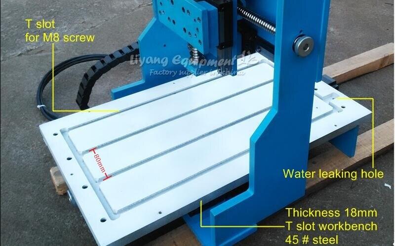 Rail de guidage linéaire 4 axes CNC fraisage 3040 bois métal graveur routeur machine haute précision pour aluminium cuivre forage sculpture - 6