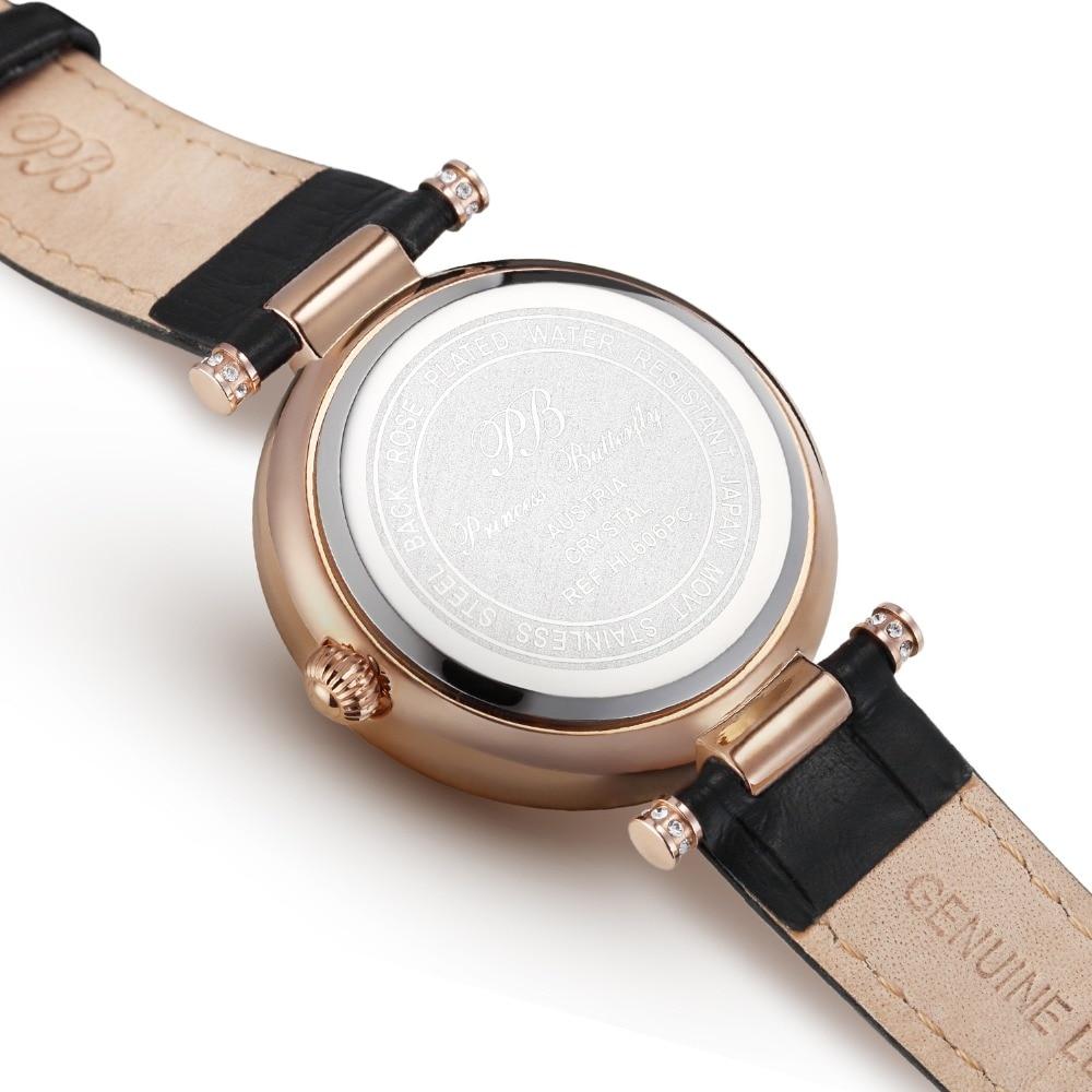 Nowości Austriacki zegarek kwarcowy Crystal BP Luksusowy zegarek - Zegarki damskie - Zdjęcie 3