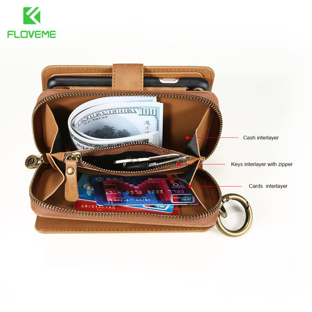 FLOVEME Wallet Case For Samsung & iPhone