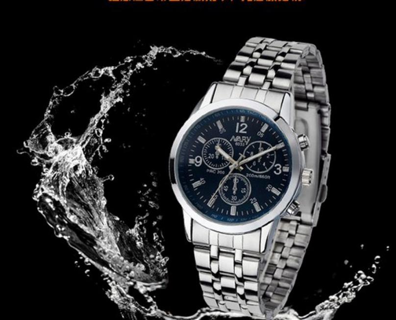compare prices on accurate quartz watches online shopping buy low luxury men 30m waterproof stainless steel quartz watch shockproof business male analog wristwatch accurate time dress