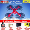 MJX X102h rc Drone fpv wifi Drones quadcopter with Camera HD 1080P 12Mp Professional Quadcopter rc helicopter Hold One Key home