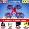 X102h MJX rc Zangão fpv quadcopter Drones com Câmera wi-fi HD 1080 P 12Mp Profissional Quadcopter rc helicóptero Segurar Uma Chave casa