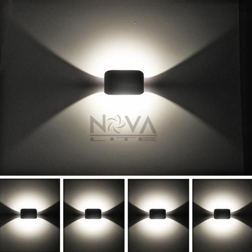 LED Indirect Wall Sconce Modern Contemporary Lighting LED Wall Lamp Indoor Lighting 3W AC85V to AC265 Input 3 narrow beam indoor wall effect light led architectural facade lighting 3 emission led wall sconce ac90 260v input decoration
