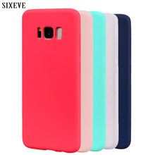 Candy Macaron Color Case For Samsung Galaxy A3 A5 A7 J3 J5 J7 2016 2017 Pro Prime S6 S7 S8 S9 Plus Note5 Note8 Note9 Soft Cover(China)