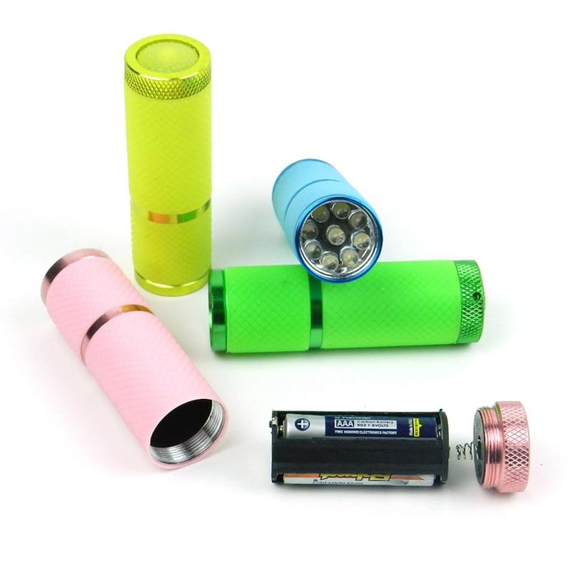 Skycoolwin lampes de poche LED 9 LED lampe perles torche LED lampe de lumière couleurs assorties 50 PCS/Lot - 4
