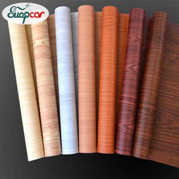 5M/10M Self-adhesive Wallpaper Rolls Wardrobe Cupboard Door PVC Imitation Wood Stickers Old Furniture Waterproof Decorative Film - DISCOUNT ITEM  40% OFF All Category