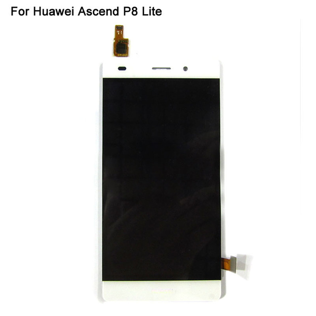 P8 lite LCD Display Touch Screen Digitizer Glass Panel For Huawei Ascend P8 lite lcd Replacement