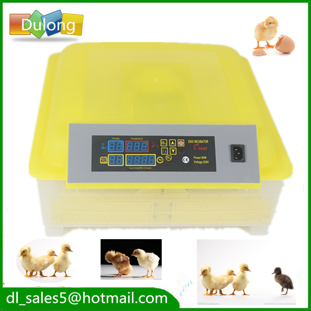 Fully Automatic Egg Incubator Mini Industrial Brooder Hatchery Machine For Hatching 48 Chicken Duck Quail Poultry Eggs ce certificate poultry hatchery machines automatic egg turning 220v hatching incubators for sale