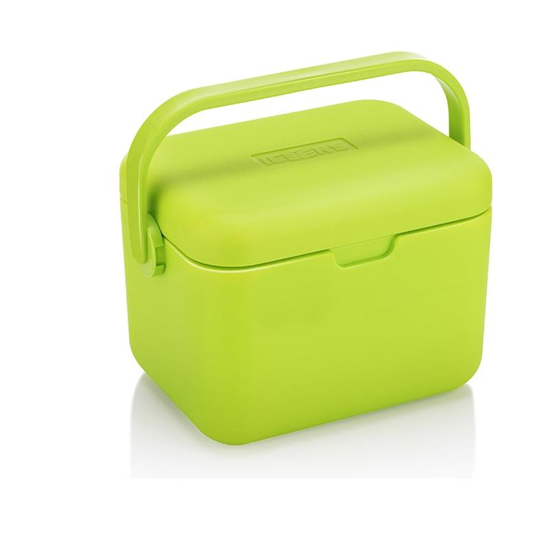 Luar Auto PU Insulation Cooler Medication Refrigerator Cold Chain Storage Cool Portebla  Ice Bucket 5L Food Cooler Plastic Boxes