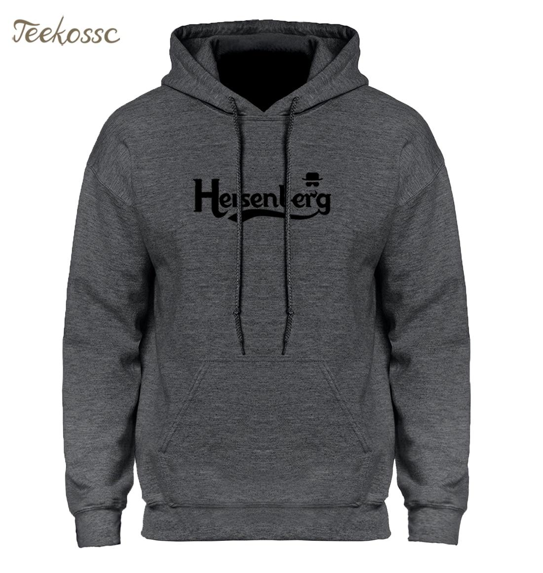 Breaking Bad Heisenberg Hoodie Hoodies Sweatshirt Men Men's 2018 New Winter Autumn Hoody Cotton Print Casual Male Brand Clothing