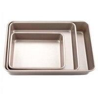 9/11/12. molde retangular para forno  bandeja de cozimento não aderente de 8/15 polegadas  de metal para bolo de pão  forma para forno  aparelhos para assar