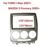 Fascia Face Plate Bezel Double Din Stereo Panel For Ford Everest Ranger Mazda BT 50 BT50