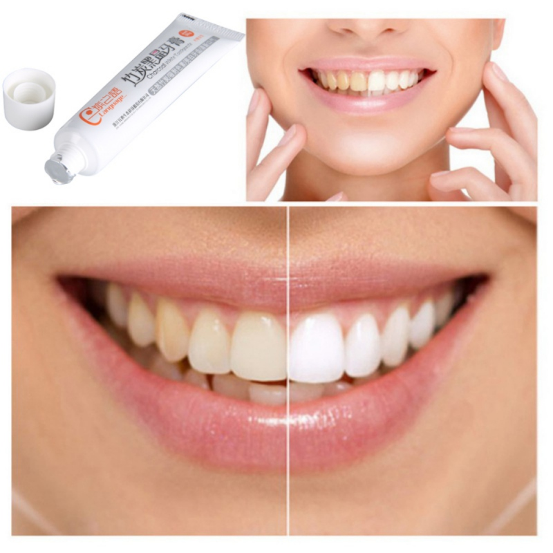 New Bamboo Charcoal Toothpaste Whitening Black Toothpaste Charcoal Toothpaste Oral Hygiene Toothpaste
