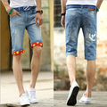 Summer style high quality new fashion casual men jeans slim straight  men pants Free Shipping MF745821