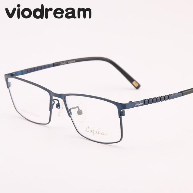 794f59f0581e Viodream 100% Pure Titanium Super Light Business Full Glasses Frame Myopia  Prescription Eyewear Eyeglasses Frames Oculos De Grau