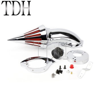 For Honda VTX 1300 VTX1300 All Years Motorcycle Chrome Air Intake Filter Motorbike Aluminum Spike Air Cleaner Kits image